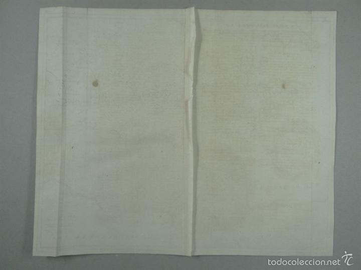 Arte: Mapa de Francia, 1740. Rapin/Tindal/Seale - Foto 4 - 56085668