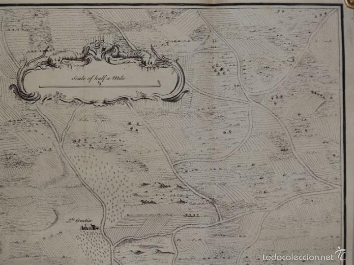 Arte: Plano de la ciudad y el puerto de Mahon (Menorca, Baleares, España), 1744. Tindal/Rapin/Seale - Foto 5 - 56085856