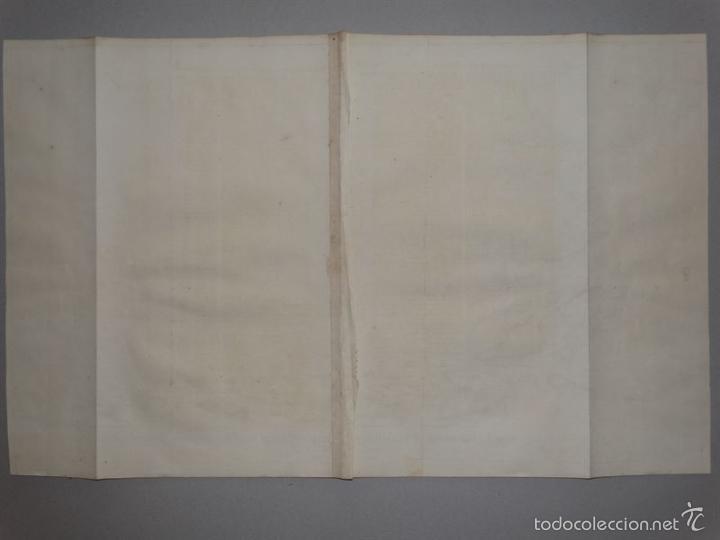 Arte: Plano de la ciudad y el puerto de Mahon (Menorca, Baleares, España), 1744. Tindal/Rapin/Seale - Foto 9 - 56085856