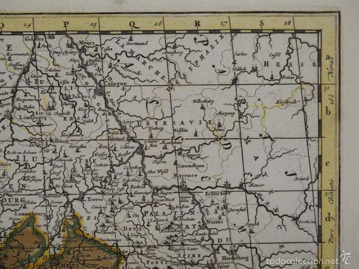 Arte: Gran mapa de Francia, 1660. Carolus Allard - Foto 9 - 56125201