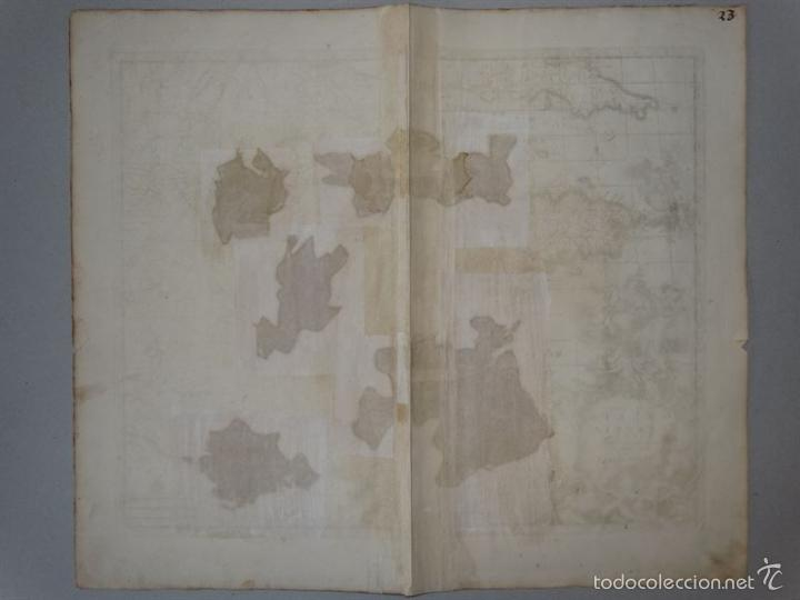 Arte: Gran mapa de Francia, 1660. Carolus Allard - Foto 21 - 56125201
