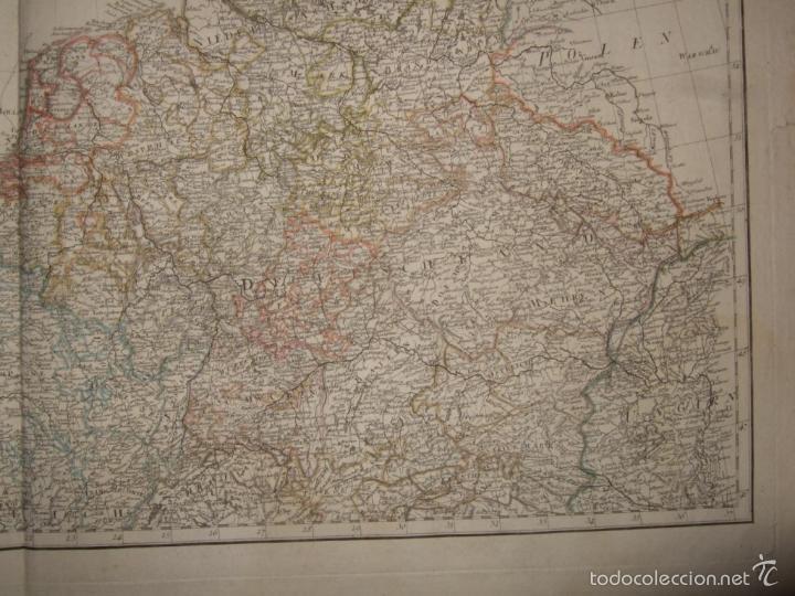 Arte: Dos grandes mapas de Europa occidental, 1790. DAnville/Schraembl - Foto 8 - 56205219