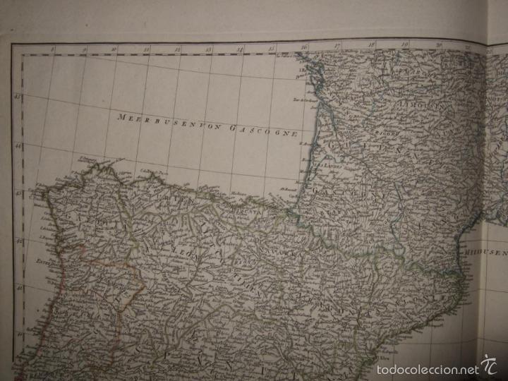 Arte: Dos grandes mapas de Europa occidental, 1790. DAnville/Schraembl - Foto 9 - 56205219