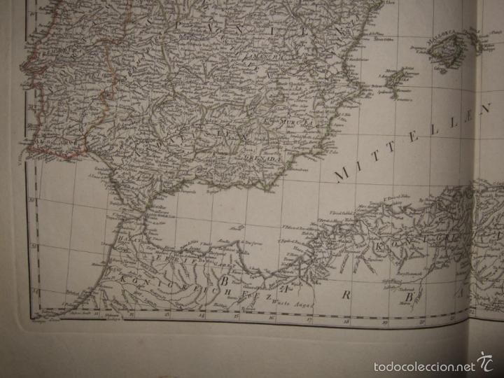 Arte: Dos grandes mapas de Europa occidental, 1790. DAnville/Schraembl - Foto 10 - 56205219