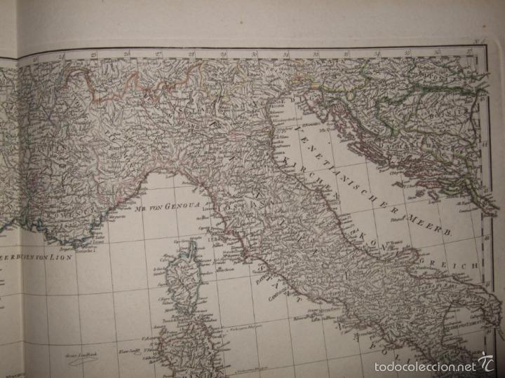 Arte: Dos grandes mapas de Europa occidental, 1790. DAnville/Schraembl - Foto 11 - 56205219
