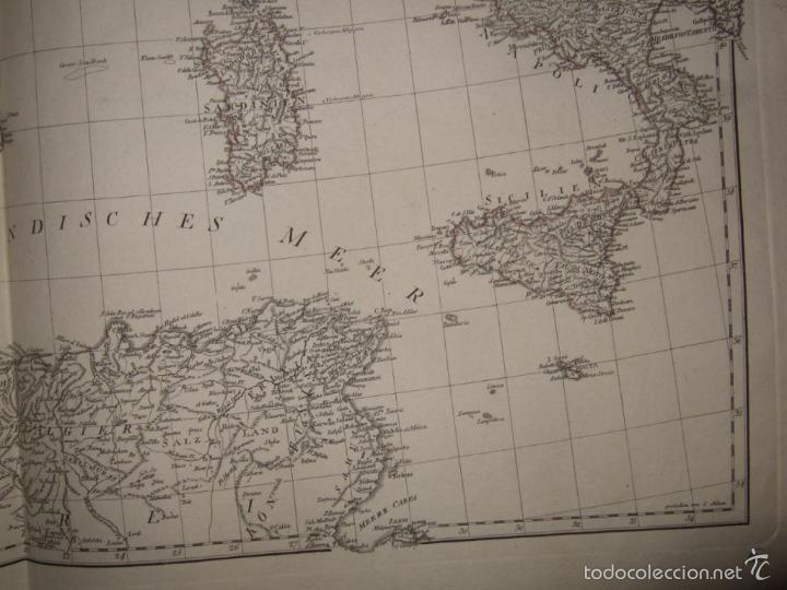 Arte: Dos grandes mapas de Europa occidental, 1790. DAnville/Schraembl - Foto 12 - 56205219