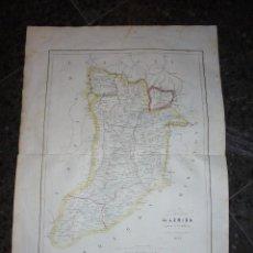Arte: ANTIGUO MAPA - PROVINCIA DE LERIDA PARTE DE CATALUÑA ANDORRA GRABADO POR R. ALABERN Y E. MABON 1853. Lote 56238211