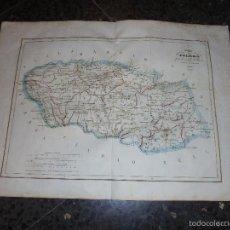 Arte: ANTIGUO MAPA - PROVINCIA DE TOLEDO PARTE DE CASTILLA LA NUEVA GRABADO POR R. ALABERN Y E. MABON 1853. Lote 56238425