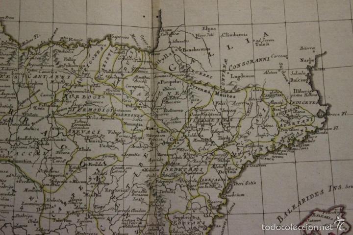 Arte: Mapa de España y Portugal antiguos, 1785. Zatta - Foto 4 - 56486554
