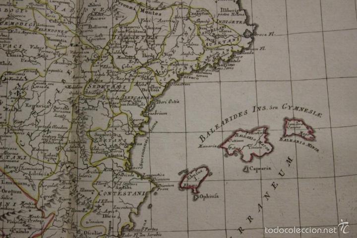Arte: Mapa de España y Portugal antiguos, 1785. Zatta - Foto 8 - 56486554