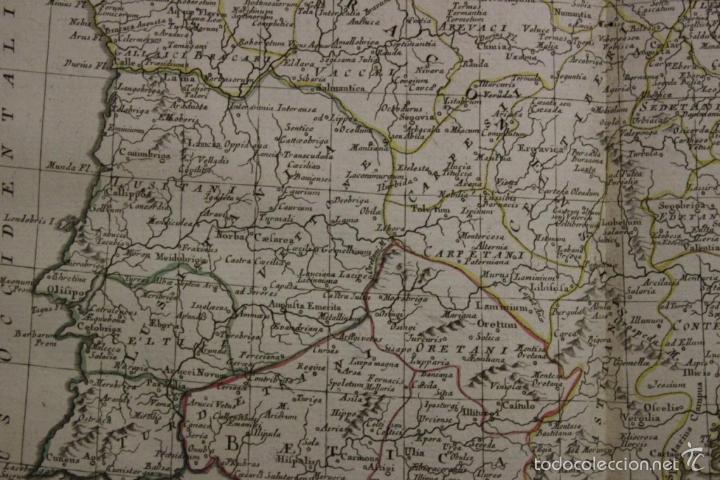 Arte: Mapa de España y Portugal antiguos, 1785. Zatta - Foto 9 - 56486554