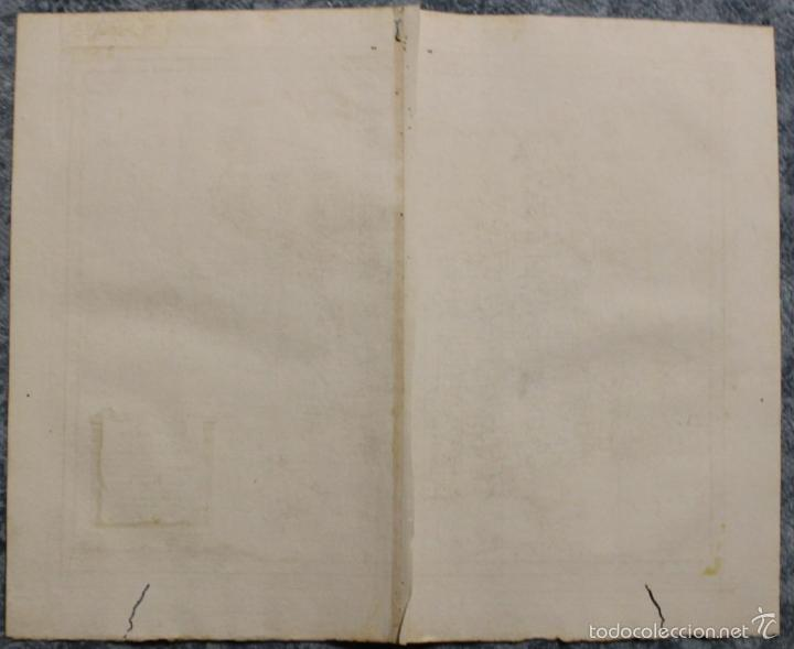 Arte: Mapa de España y Portugal antiguos, 1785. Zatta - Foto 11 - 56486554