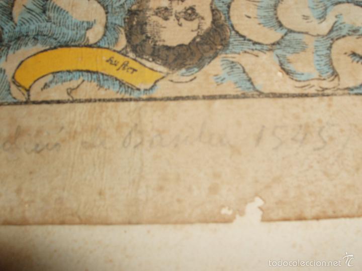 Arte: ANTIGUO MAPA DEL MUNDO. TIPVS ORBIS A PTOL. DESORIPTVS. BASILEA 1540-1548. ORIGINAL. - Foto 9 - 56827276