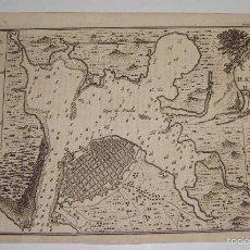 Arte: GRABADO S.XVIII. PLANO DE LA HABANA 1762. PLAN OF THE CITY, AND HARBOUR OF HAVANNA. 1762. Lote 56911029