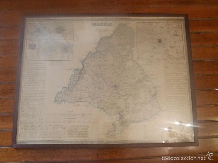 MAPA DE MADRID (Arte - Cartografía Antigua (hasta S. XIX))