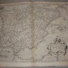 Arte - Mapa de España. Regni Hispaniae Post Omnium Editiones Locumplessima Descriptio. A. Ortelius. 1575. - 57071304