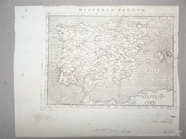 MAPA DEL REINO DE ESPAÑA, 1720. LASOR A VAREA (Arte - Cartografía Antigua (hasta S. XIX))
