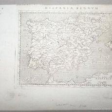 Arte: MAPA DEL REINO DE ESPAÑA, 1720. LASOR A VAREA. Lote 57182148