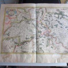 Arte: 1590C-MAPA ORIGINAL GERARDO MERCATOR. SAJONIA. DEUTSCHLAND.ALEMANIA.PUEDE PAGARSE A PLAZOS. Lote 57814998