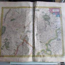 Arte: 1590C-MAPA ORIGINAL GERARDO MERCATOR.PALATINADO DEL RIN. DEUTSCHLAND.ALEMANIA.PUEDE PAGARSE A PLAZOS. Lote 57815028