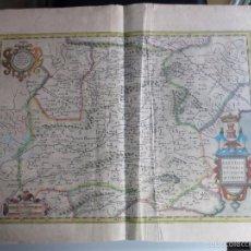 Arte: 1606-MAPA ORIGINAL MERCATOR.TERUEL CHIVA MURCIA HUESCA VILLENA AZUARA ZARAGOZA ALCOCER AVILA PALENCI. Lote 57815067