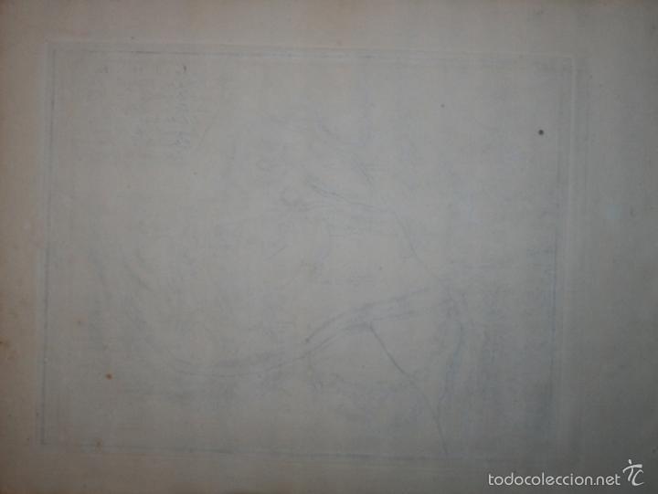 Arte: Mapa de Gerona (España), 1694. Nicolás de Fer - Foto 2 - 58139650