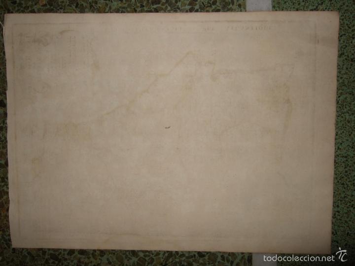 Arte: Mapa de Portugal, 1705. Nicolás de Fer - Foto 6 - 58277899