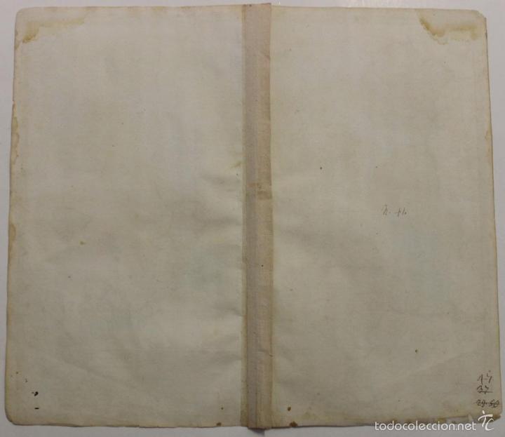 Arte: Gran mapa de España y Portugal, 1730. Homann - Foto 20 - 58644518