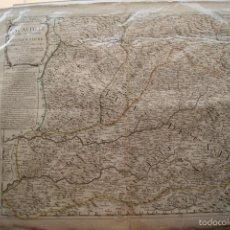 Arte: MAPA CASTILLA LA NUEVA Y EXTREMADURA 1704. Lote 59781436