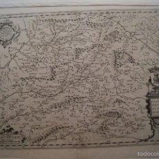 Arte: MAPA CASTILLA VETERIS ET NOVA DESCRIPTIO 1606. Lote 59782228