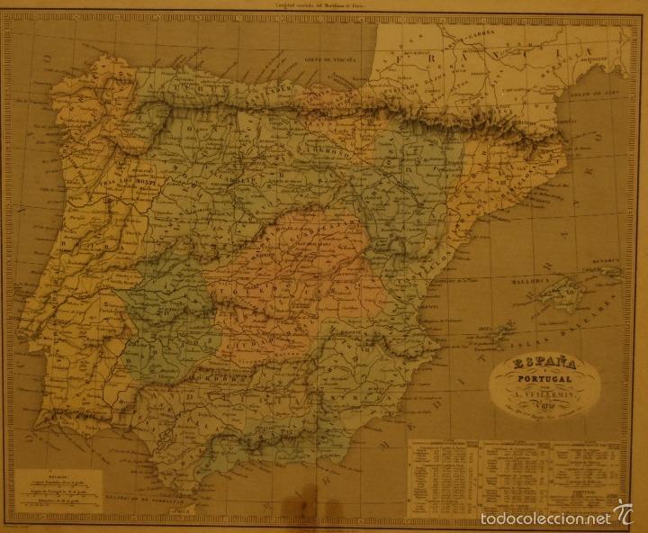 Arte: Mapa de España editor Alexandre Vuillemin - Foto 2 - 60505563