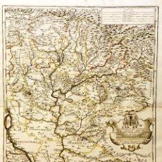 Arte: MAPA S. XVII. AÑO 1684. HUNGRIA ORIENTAL. POR GIACOMO DE ROSSI. Lote 62521812