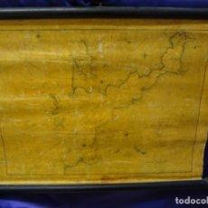 Arte: GALICIA. PLANO DE LA RIA DE VIGO. CAPITAN DE FRAGATA ANTONIO DORAL. DIRECCION DE HIDROGRAFIA. 1879. Lote 65032247