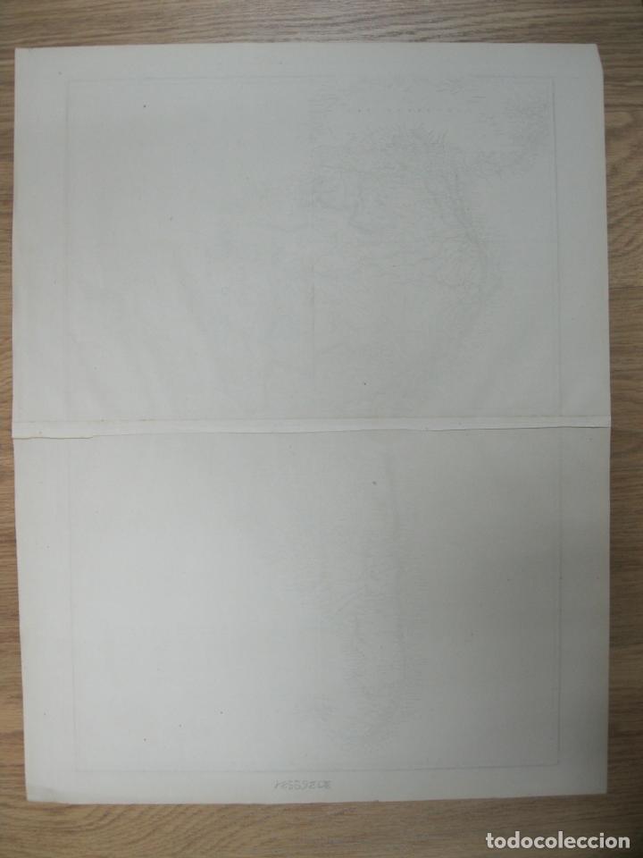 Arte: Gran mapa de América del Sur, circa 1850. T. Ettling - Foto 4 - 67584273