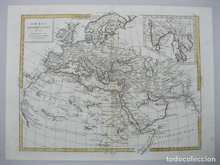 MAPA DEL MUNDO, 1785. ANTONIO ZATTA (Arte - Cartografía Antigua (hasta S. XIX))