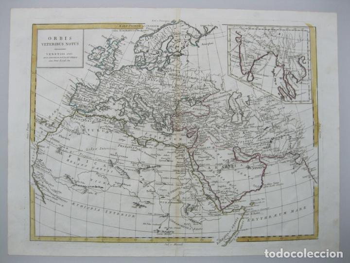 Arte: Mapa del Mundo, 1785. Antonio Zatta - Foto 2 - 67594729