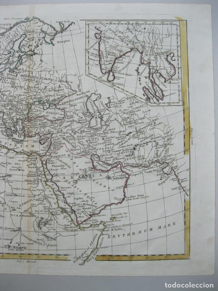 Arte: Mapa del Mundo, 1785. Antonio Zatta - Foto 4 - 67594729