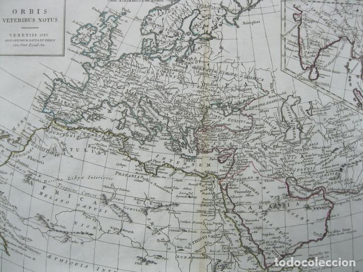 Arte: Mapa del Mundo, 1785. Antonio Zatta - Foto 6 - 67594729