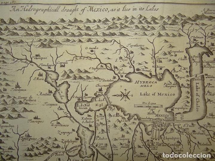 Arte: Plano de la antigua ciudad de México (América), 1744. A. Churchill - Foto 6 - 67941593