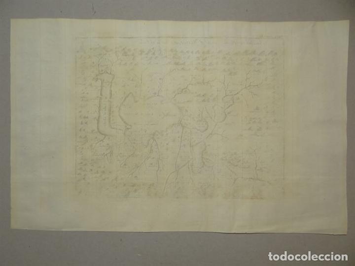 Arte: Plano de la antigua ciudad de México (América), 1744. A. Churchill - Foto 8 - 67941593