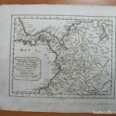 Arte: MAPA DE PANAMÁ, VENEZUELA Y COLOMBIA, 1771. BELLIN/ANVILLE/PREVOST. Lote 68222177