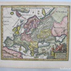 Arte: MAPA A COLOR DE LA ANTIGUA EUROPA, 1729. PHILIPP CLÜVER. Lote 68988933