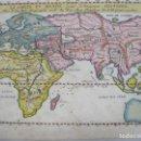 Arte: MAPA DEL MUNDO ANTIGUO (EUROPA, ÁFRICA Y ASIA), CA. 1666. PIERRE DUVAL. Lote 68990945