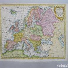 Arte: MAPA A COLOR DE EUROPA, 1775. E. Y T. BOWEN. Lote 69025677