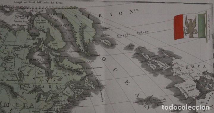 Arte: Mapa de América, 1838. Francesco Marmocchi - Foto 7 - 70455605