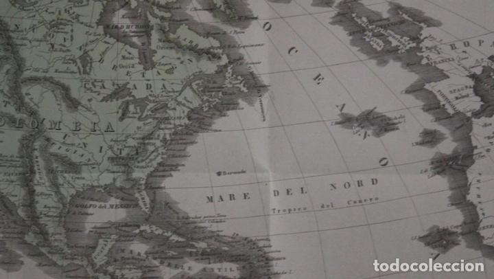 Arte: Mapa de América, 1838. Francesco Marmocchi - Foto 9 - 70455605
