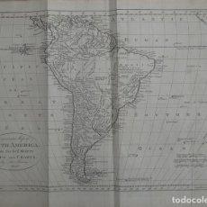 Arte: MAPA DE AMÉRICA DEL SUR, 1790. COOKE/BOWEN/BANKES. Lote 71421131