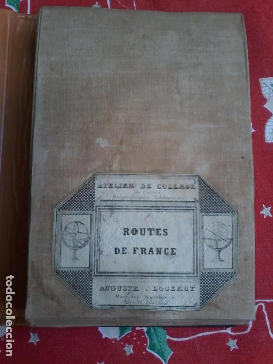 Arte: NOUVELLE CARTE PHYSIQUE ET ROUTIERE DE LA FRANCE - 1872 - MAPA - MAP -ATLAS - A.R.FREMIN - LOGEROT - Foto 9 - 71664775