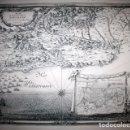 Arte: MAPA DE BARCELONA - SITIO - ASEDIO - 1698 - FRANCESES. Lote 73621455
