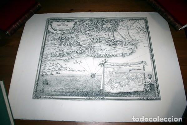 Arte: MAPA DE BARCELONA - SITIO - ASEDIO - 1698 - FRANCESES - Foto 6 - 73621455